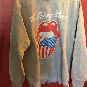 One of a kind vintage Rolling Stones sweatshirt